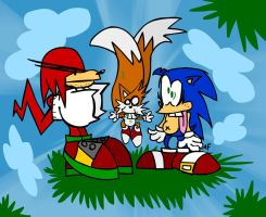 Sonic Blokes by GagaMan
