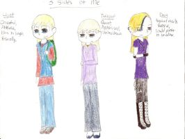 3 sides of me by fencergirl00