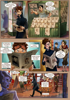 Monsieur Charlatan Page 60 by DrSlug