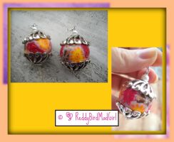 Multiflower Earring by ReddyBirdMadGirl