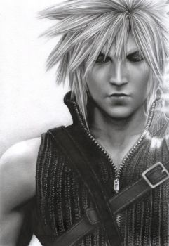 Final Fantasy - Cloud by D17rulez