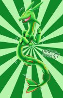 Rayquaza used dragon dance! by LadyBeelze