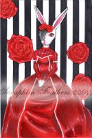 Lapin Victoriana by SeraphimFeathers