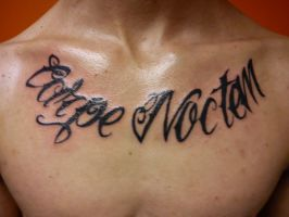 Carpe Noctem Tattoo by Molly-ArcAngelTattoo
