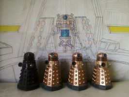 Doctor Who - Emperor Dalek Backdrop [3 of 6] by DoctorWhoOne