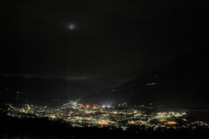 Brixen in the Night by cyberfish128