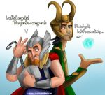Miguel and Tulio - Asgardians by EmalieTison