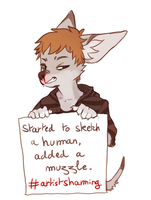 Artist shaming by Imalou