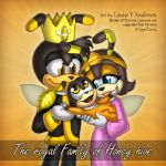The royal Family of Honey hive by lu-raziel