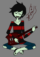 Marshall Lee by BlackNinjadude