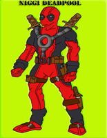 Niggi Deadpool by superlisamcb