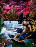 wolvie, pred, aliens by toddrayner