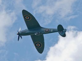 PR Spitfire Inverted by davepphotographer