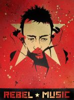 Rebel Music - Thom Yorke by dhil36