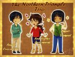 Elementary Northern Triangle Cheebs by LKeiko