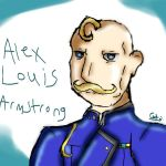 FMA: Alex Louis Armstrong by theanimecat10
