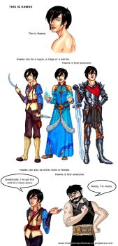 C and H: This is Hawke by Ddriana