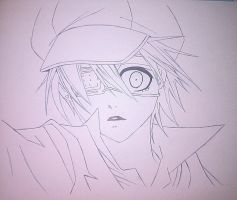 Black Butler - Ciel 3 Sketch by asha0