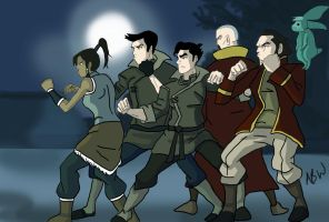 Legend Of Korra: I'm not alone. by AvengerBlackwidow