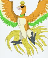Ho-Oh by Wolfgerlion
