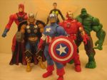THE AVENGERS by efrece
