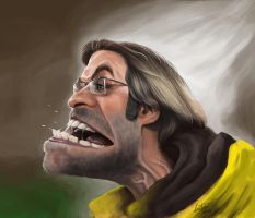 Juergen Klopp caricature by luebbi1981