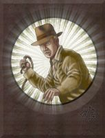 Indiana Jones by LucGrigg