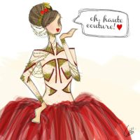 Oh Haute Couture! by rednotion