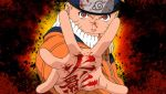 Naruto in Blood PSP wall by DeviantSith