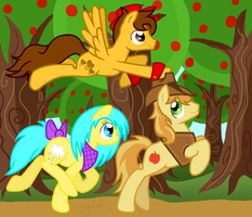 Commission: All Together Now by badkittyxx
