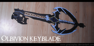Oblivion keyblade by PxScosplay