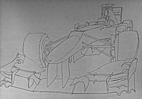 2013 F1 car doodle by Galbatore