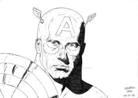 Capitain America by DuhSoares