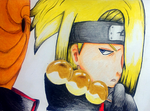 Happy Birthday Deidara-senpai! by EmeraldWolfStar