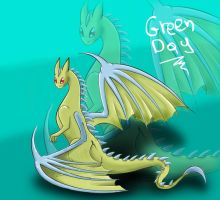 Commision-GreenDay by Derpina-kun