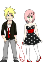 Narusaku: Tied by fate. by XNessNessX