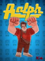 Wreck it Ralph - Ralph Spaccatutto by ClaudioNaccari