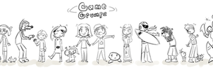 Game Grumps Groop Shot by DarkTangrowth