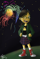 Margo's Fireworks by LoudNoises