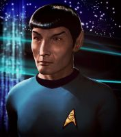 Spock by xmas-kitty