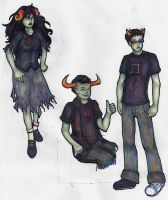 Homestuck Trolls 1 by Moon-Unit-Omega