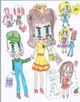Super Mario:Shopping by PrincessDaisyRocks10