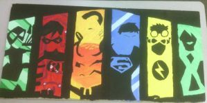 Young Justice Tile by Captain-Knemo