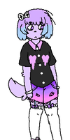pastel goth puppy adoptable {CLOSED} by Mamie-Adopts-15