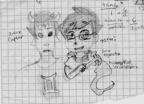 john and sollux by Gaaras-Girl1347