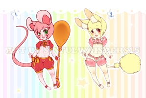 Random cute adoptables (OPEN) 1/2 by SinfulWhispers15