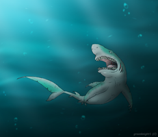 The Sea Monster Lusus by mechafone