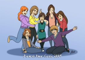 Animation Crew 2009 by AmberDust