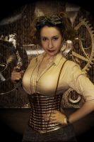 Steam Punk Girl by MickBarber