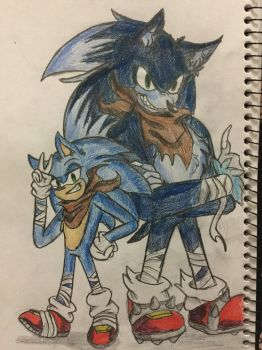Sonic Boom...Unleashed???? by MsCreepyPlagueDoctor